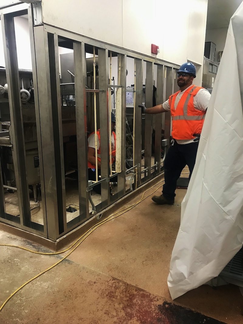 SEU Stainless Steel Installation