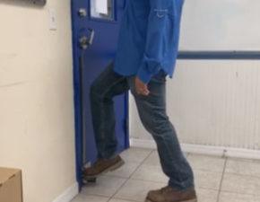 hands free door knob